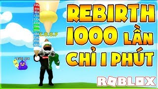 [🎁 Surprise!] ROBLOX | REBIRTH 1000 TIMES IN 1 MINUTE IS REAL | Ice Cream Simulator