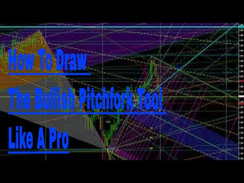 how to draw andrews pitchfork