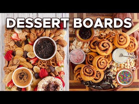 How to Make Vegan Dessert Boards | Cinnamon Roll & Sweet n' Salty