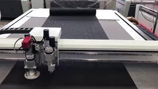 CNC Vibration Cutterfor Textile &Composit material cutting