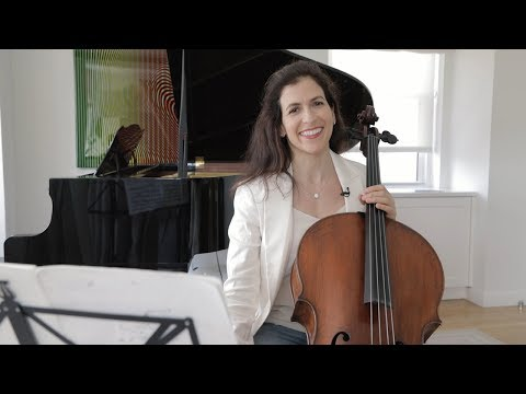 Bach Masterclass: Prelude from Suite No. 2 - Musings with Inbal Segev