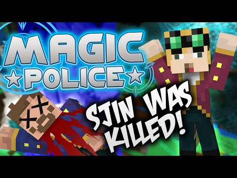 Minecraft Magic Police #85 - Sjin Was Killed (Yogscast Complete Mod Pack) - 동영상