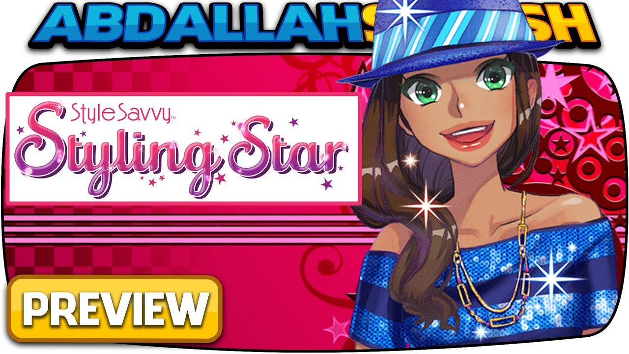 Style Savvy Styling Star 1 Hour Preview Live New Nintendo 3ds Gameplay Youtube