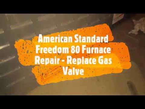 Bad Gas Valve - American Standard/Trane Furnace Repair