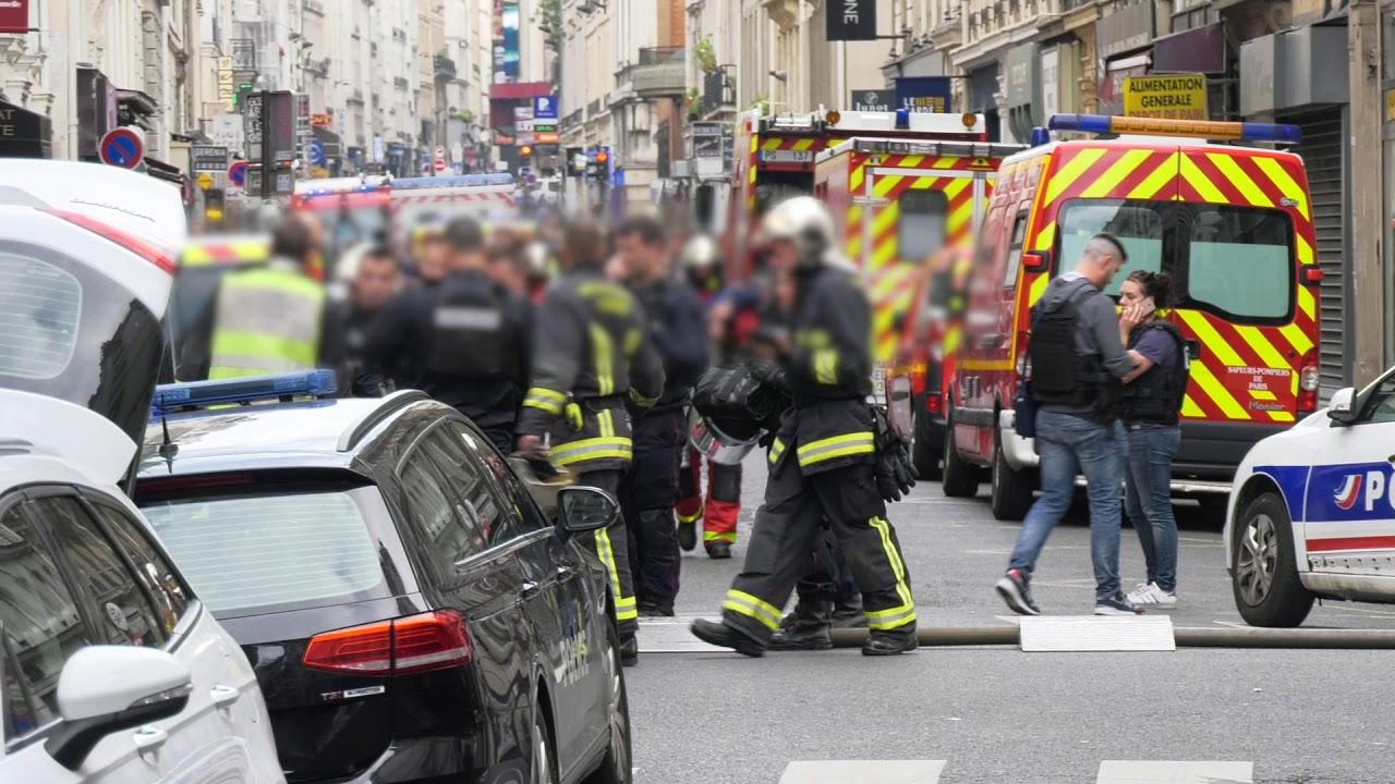 Prise d'otages : intervention de la BRI (12 juin 2018, Paris)