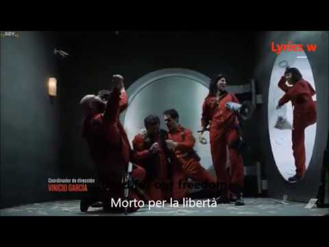Best Scene of Casa de Papel Bella Ciao Song With English And Italian Lyrics