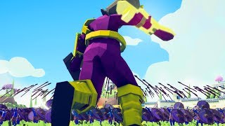 Giant Thanos vs Wakanda - Totally Accurate Battle Simulator Part 9 - Pungence