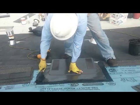 HOW TO VIDEO...Installing a O'hagin Vent ...Low profile roof ventilation .