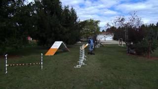 Squirt lesson #4 weave pole
