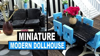 Doll Crafts | How To Make Cardboard & Paper Mache Dollhouse