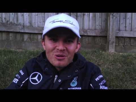 Nico Rosberg Video Blog - Great Britain