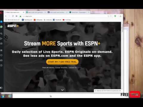 ESPN plus streaming for free 2019 - شرح مجانا