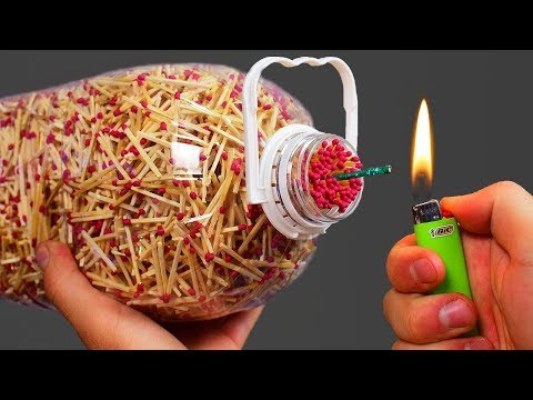 WOW! 3 AWESOME MATCHES EXPERIMENTS