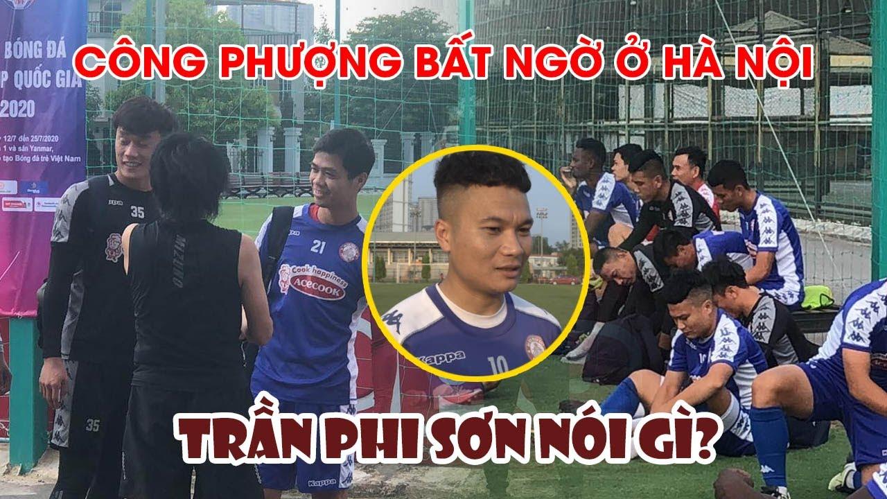 Buổi tập bất ngờ tại Hà Nội của CLB TP Hồ Chí Minh, tâm tư của Trần Phi Sơn trước trận đối đầu