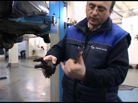Замена сцепления на Ford Focus I.avi