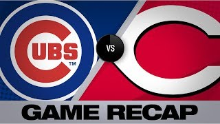 Castellanos' 2 homers power Cubs to 12-5 win | Cubs-Reds Game Highlights 8/8/19