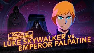 Star Wars Kids - Galaxy of Adventures | Luke Skywalker vs. Kejser Palpatine