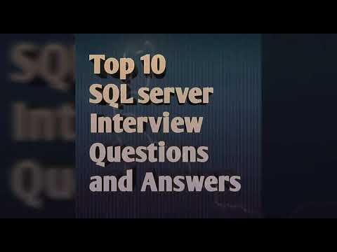 10 most asked SQLServer Interview Questions and Answers Top 10