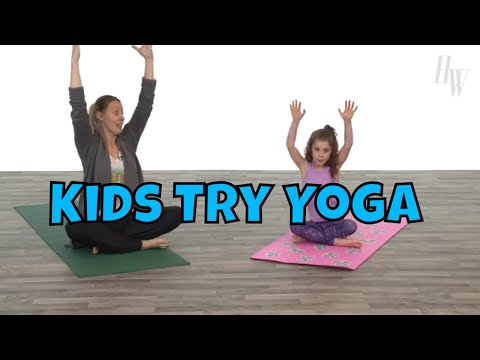 Kids Try Yoga For The First Time