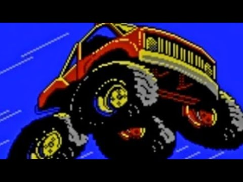 Monster Truck Rally (NES) Playthrough - NintendoComplete