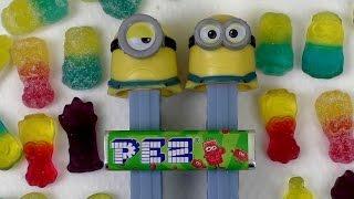 MINIONS PEZ & New Tangy HARIBO Minions & Kids Puzzle