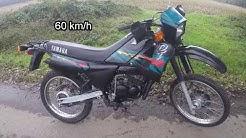 Yamaha DT 50  Probefahrt
