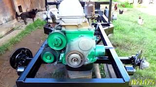 як зробити саморобні трактори з ваз
