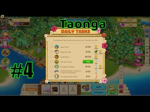 "🌴 Taonga 🌳 : ""Add resources to produce goods in the trade passing ships and villages""  - part #4"