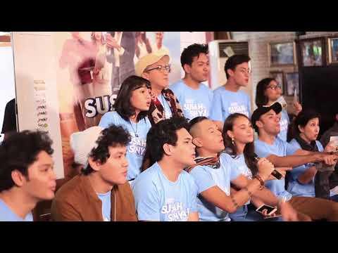 Press Conference OST. SUSAH SINYAL (TheOvertunes, Rendy Pandugo dan Ardhito Pramono)