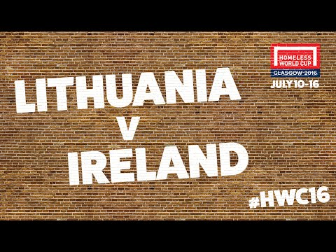 Lithuania V Ireland | Group D # HWC2016