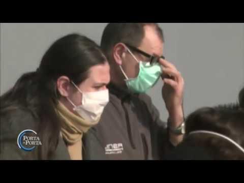Codogno: comune chiuso per Coronavirus - Porta a porta 27/02/2020