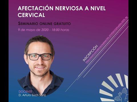 Afectación nerviosa a nivel cervical