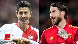 Poland's Robert Lewandowski vs. Spain's Sergio Ramos headlines Group E | Euro 2020