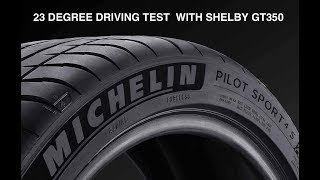 Michelin Pilot Sport 4S Winter Below Freezing Review | Shelby GT350 | Auto Fanatic