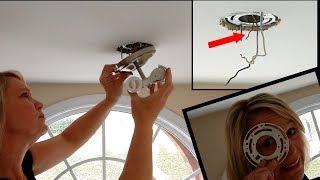 Install a Ceiling Light Fixture
