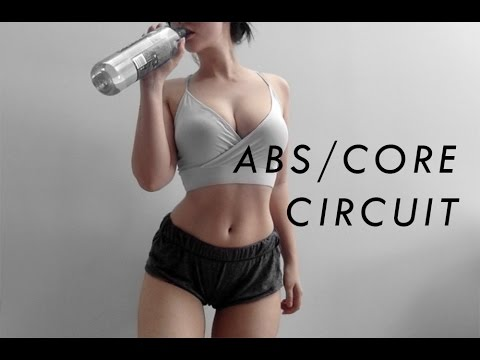 get a toned tummy my abs circuit routine // rachel aust