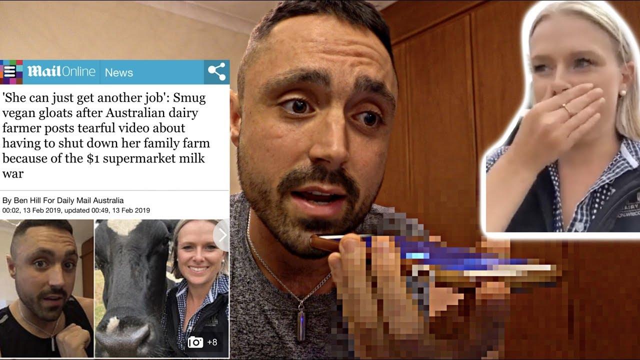 Daily Mail Vs Vegan Activist Vs Dairy Farmers
