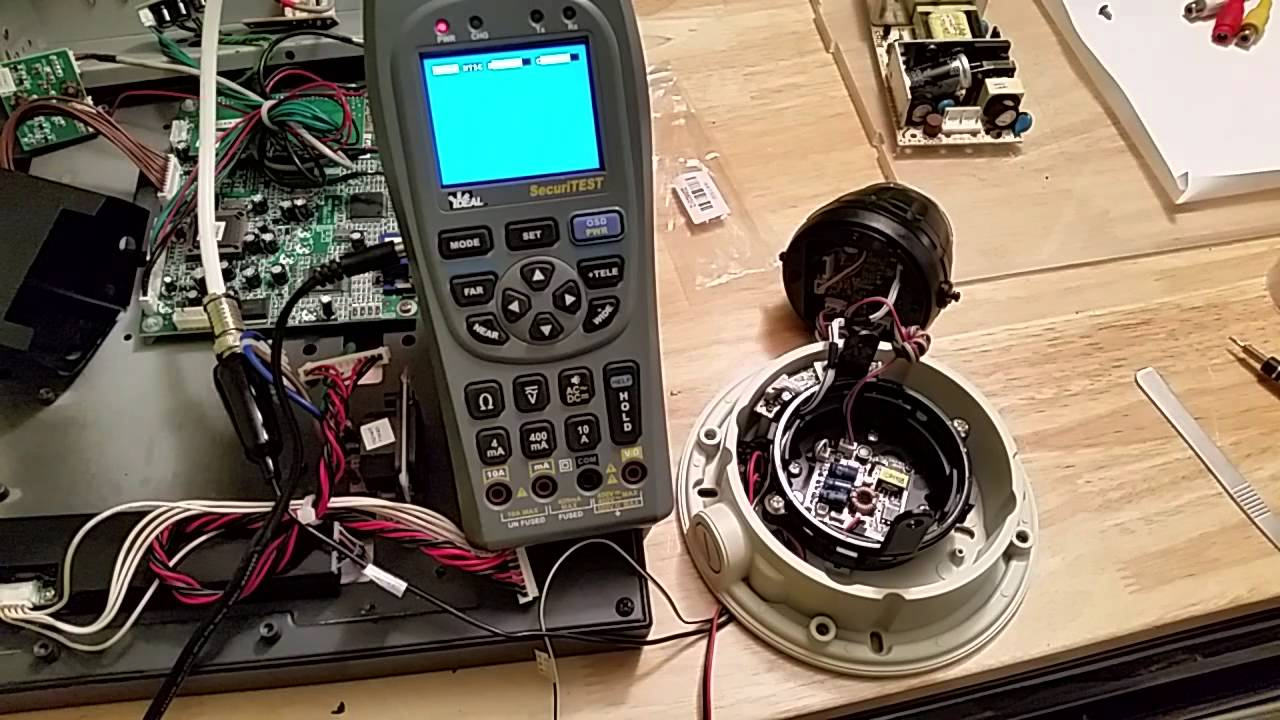 cctv camera repair and pelco pmcl lcd monitor electronics