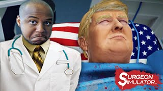 SURGERY ON DONALD TRUMP! | Surgeon Simulator: Inside Donald Trump DLC