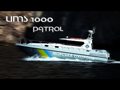Обзор. Катер UMS 1000 Patrol.