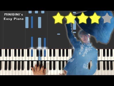 LAY (레이)– GIVE ME A CHANCE《MINIBINI EASY PIANO ♪》 ★★★★☆ [Sheet]