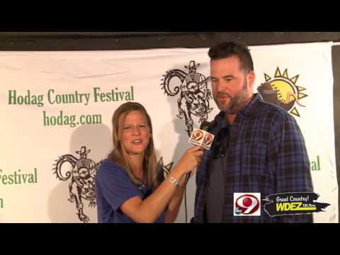 Newsline 9 David Nail Interview at Hodag 2017