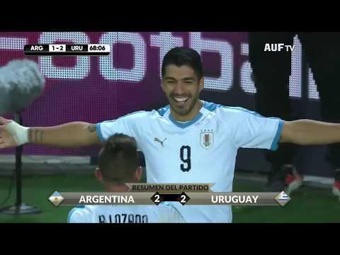 Uruguay 2 - 2 Argentina - Resumen AUF TV