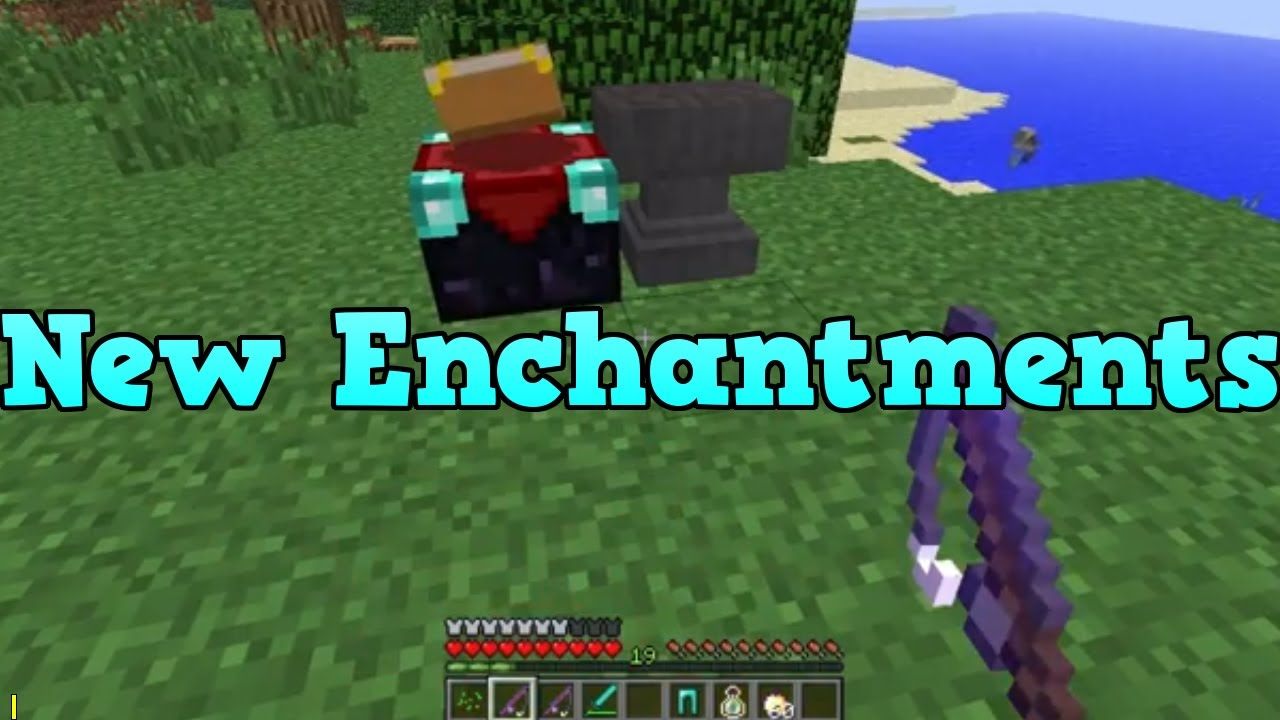 Minecraft Xbox 360 NEW Enchantments (Fishing Rod. Anvil and Thorns) - YouTube