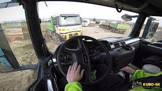 Jazdím v Brne   MAN TGS 26.440 E5 6x6 truck   Cab view