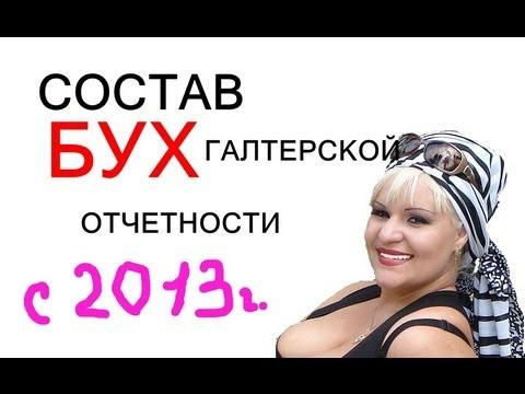 Состав бухгал.отчетности с 2013 года