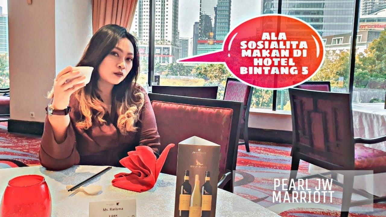 Lunch At Pearl Restaurant Jakarta Makan Sepuasnya Dihotel Bintang Lima Jakarta Youtube