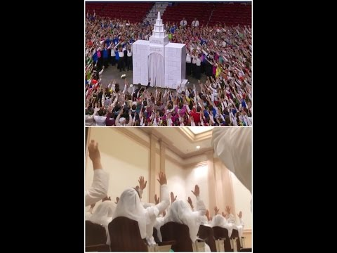 "Creepy Mormon ""Youth Cultural Celebration""  for new Philadelphia Mormon temple"