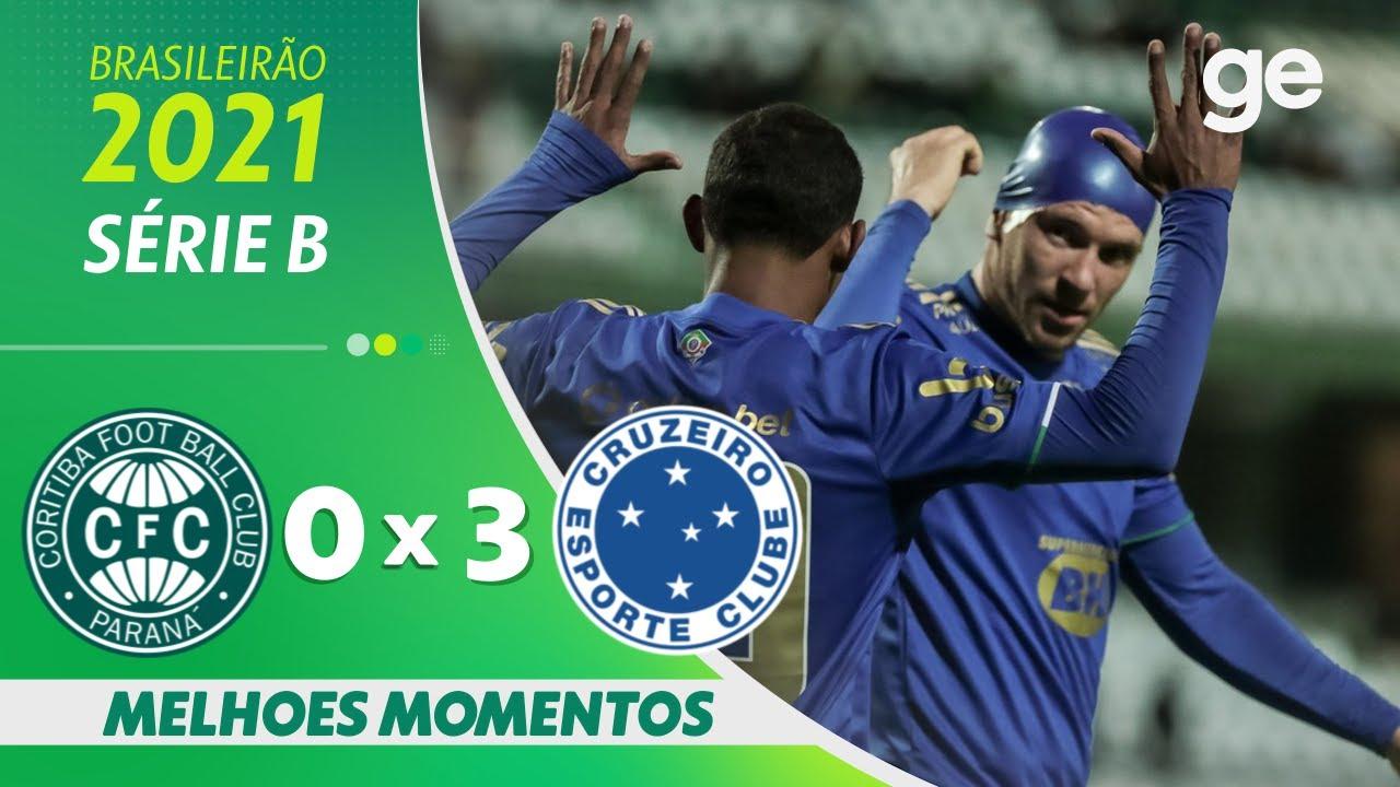 Download CORITIBA 0 x 3 CRUZEIRO | MELHORES MOMENTOS | 28ª RODADA BRASILEIRÃO SÉRIE B 2021 | ge.globo