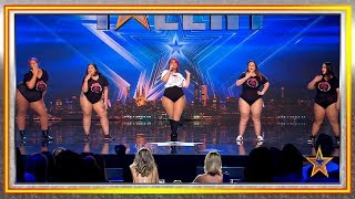 SON GORDAS, ¿y qué? Con REGGAETÓN reivindican las curvas | Audiciones 9 | Got Talent España 2019